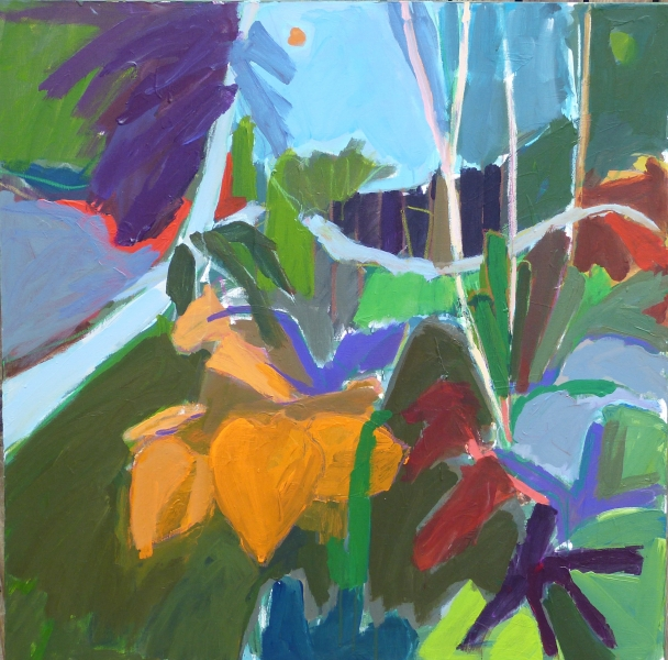 El Jardin #2 - 36x36