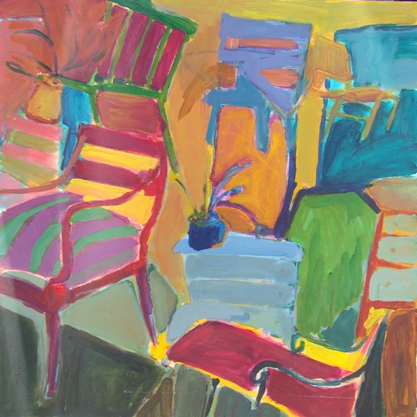 Chairs Chairs Chairs - 36x36