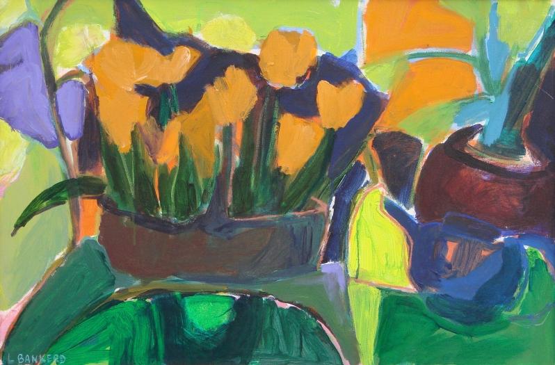Flowers in Basket - 20x30