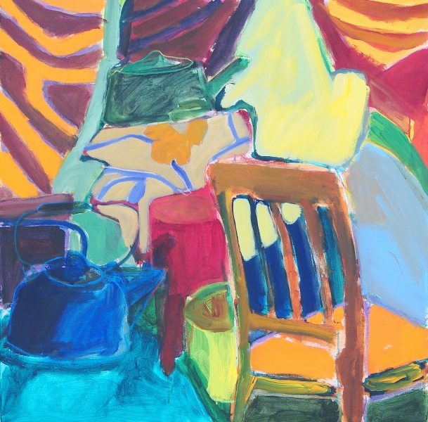 Interior with Chair - 36x36