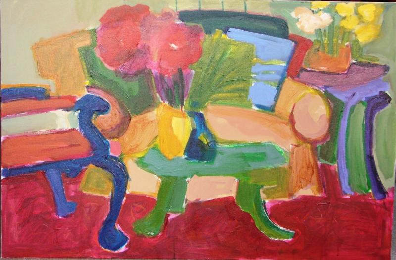 Sofa Painting 2 - 24x36